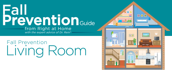 Fall Prevention | Right at Home Ireland | Living Room
