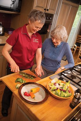 Companion Care and Homemaking from Right at Home | In Home Care & Assistance