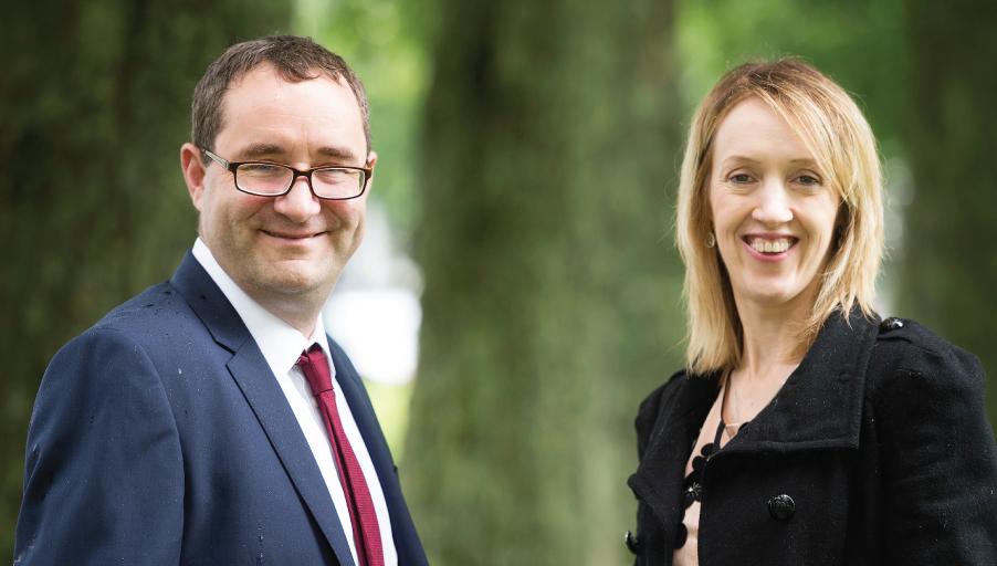 David McKone and Natalie Crowe