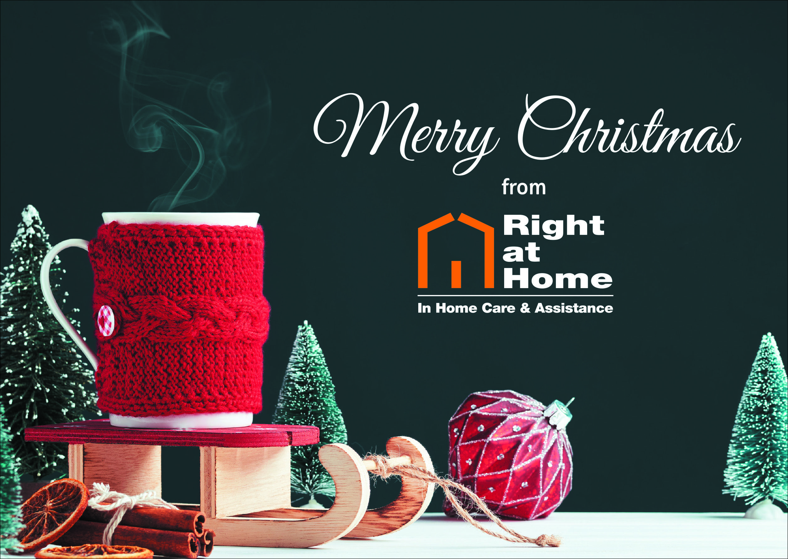 Happy Christmas Right at Home
